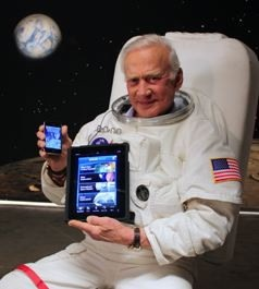 TheiPad is used in space